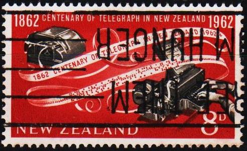 New Zealand. 1962 8d S.G.811 Fine Used