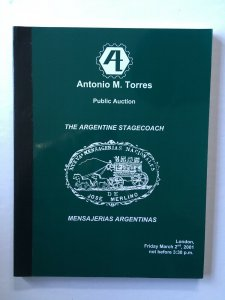 The Argentine Stagecoach Auction Catalogue 2001. Antonio Torres