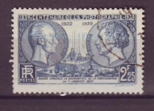 J15140 JLstamps 1939  france set of 1 used #374 photos