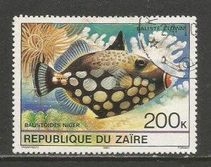 Zaire    #980  Used  (1980)  c.v. $0.70