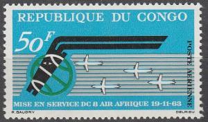 Congo #C14 MNH F-VF (SU3047)