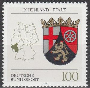 Germany #1709 MNH  (S1381)