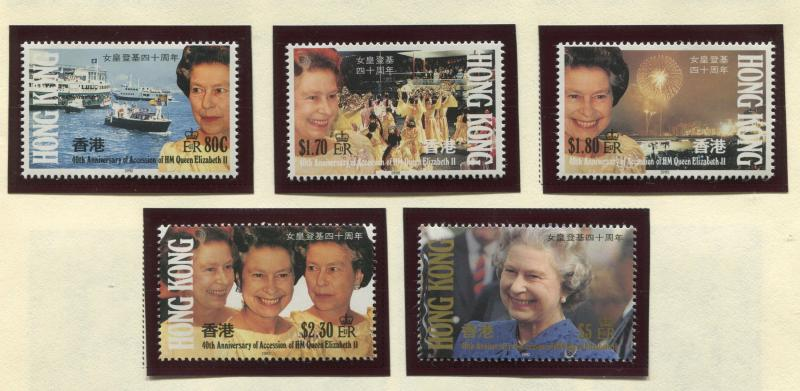 Hong Kong - Scott 619-623 - General Issue - 1992 - MNH - Set of 5 Stamps