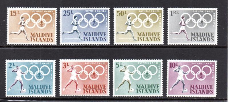 Maldive Islands 139-146 MLH
