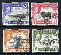 Bahawalpur 1949 S Jubilee of Accession set of 4 very fine...