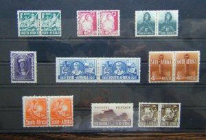 South Africa 1941 - 1946 War Effort set MM SG88 - SG96