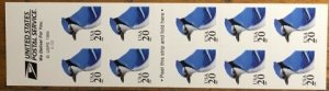 Scott 3048a 20c Blue Jay Booklet Mint VF NH