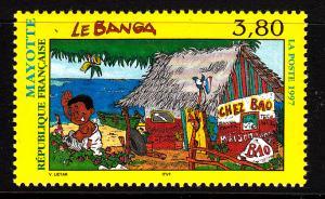 Mayotte MNH Scott #87 3.80fr Le Banga