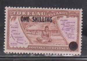 TOKELAU  Scott # 5 MH - New Value Surcharge