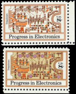 1501b, Mint VF NH Tan & Lilac Colors Omitted Error With Normal * Stuart Katz