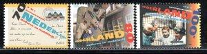 Netherlands Scott # B686 - B688, mint nh