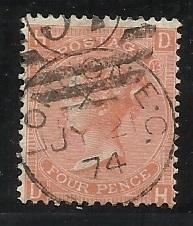 GB SC #43 4c Used See scan for perfs, margins, cancel