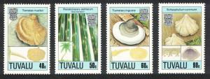 Tuvalu Fungi 2nd series 4v 1989 MNH SG#554-557 CV£8.40
