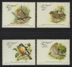 Portugal-Madeira 1988 Bird set Sc# 123-26 NH