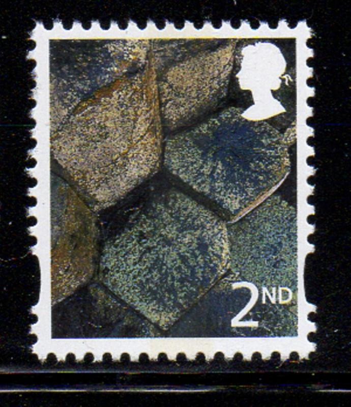 Great Britain N Ireland Sc 12 2001 2nd stamp mint NH
