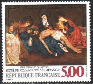 France. 1988. 2694. Quarton painting, biblical motives. MNH.