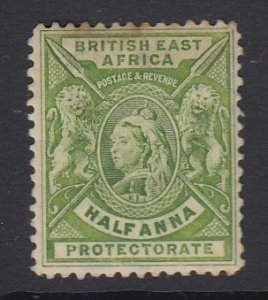 BRITISH EAST AFRICA, Scott 72, MHR (couple toned spots)