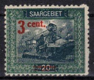 Saar - Scott 85 MNH