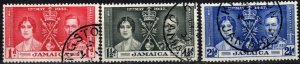 Jamaica #113-5   F-VF Used  (X1084)