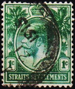 Straits Settlements. 1912 1c S.G.193 Fine Used