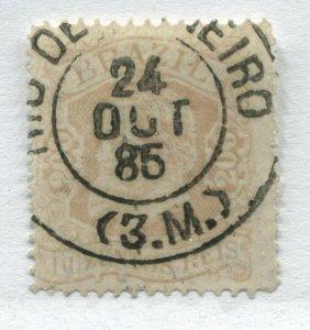 Brazil 1882 200 reis CDS used