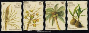 Cocos Islands Scott 173-176 Mint never hinged.