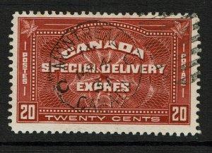 Canada SC# E4 Used  - S11156