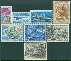 EDW1949SELL : F.S.A.T. Nice group of 8 different Very Fine Mint OGLH Sc Cat $336