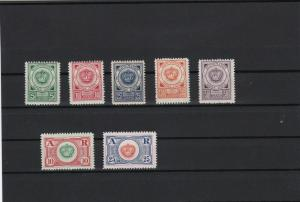 montenegro exiled government 1921 mint never hinged stamps ref r11730