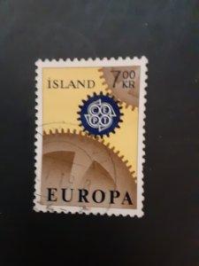 *Iceland #389            Used