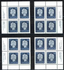 Canada Sc# 926 MNH PB 1985 34c Queen Elizabeth II