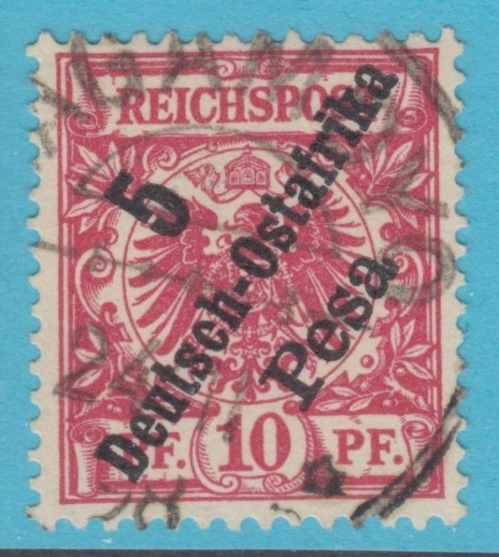 GERMAN EAST AFRICA 8 NO FAULTS VERY FINE 1896 GREAT CANCEL