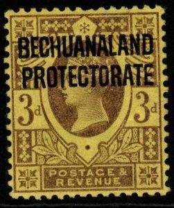 BECHUANALAND SG63 1897 3d PURPLE/YELLOW MTD MINT