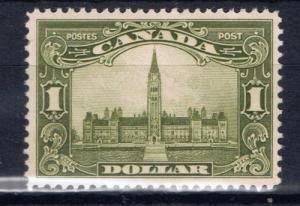 Canada 159 Hinged 1927 Parliament Building