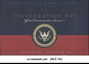 UNITED STATES USA - 2009 INAUGURATION DAY OFFICIAL COMMEMORATIVE SOUVENIR
