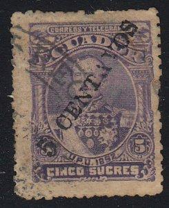 Ecuador - 1893 - SC 34 - Used