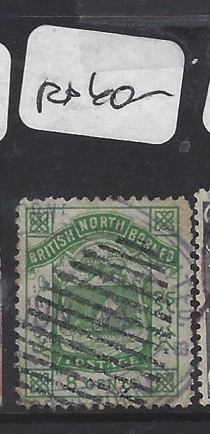 NORTH BORNEO (P0809B) 8C BARS CANCEL, POSTAGE  VFU