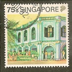 Singapore         Scott 575    Building    Used