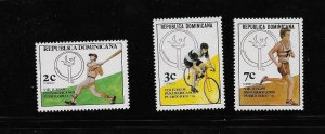 DOMINICAN REPUBLIC STAMPS MNH #JUNIOW9