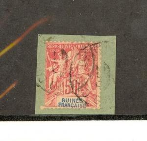 French Guinea Scott 14     [ID#430996]
