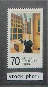 Berlin 9N410. 1977 European Art Exhibition, NH