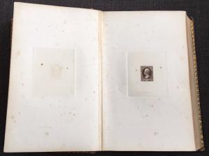 #156P1-166P1; O1P1-O93P1 COMPLETE LARGE DIE PROOFS ON INDIA IN 1874 BOOK PAHV544
