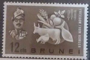 Brunei Scott #95 * nh (1963)