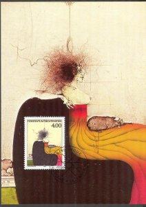 Liechtenstein 1995 Art Maxi Card FDC