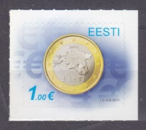 2011 Estonia 681 Coins 2,20 €
