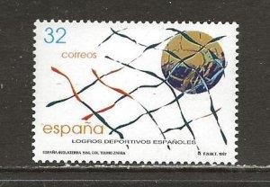 Spain Scott catalog # 2926 Mint NH