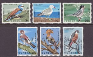 Cyprus (1969) #329-34 MNH; see scan for 329