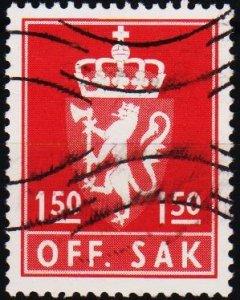 Norway. 1955 1k50 S.G.0746  Fine Used