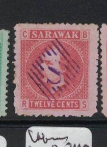 Sarawak SG 7 S Diamond Cancel Copy One VFU (1dot)