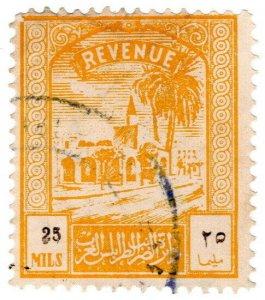 (I.B) BOIC (Tripolitania) Revenue : Duty Stamp 25m (1952)